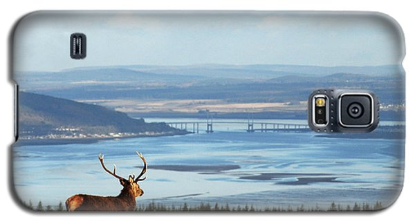 Stag Overlooking The Beauly Firth And Inverness Galaxy S5 Case