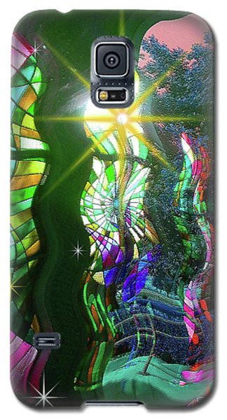 Stained Glass #4719_2 Galaxy S5 Case
