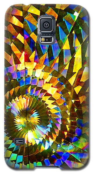 Stained Glass Fantasy 1 Galaxy S5 Case by Francesa Miller