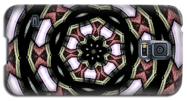Galaxy S5 Case featuring the photograph Stained Glass Kaleidoscope 12 by Rose Santuci-Sofranko