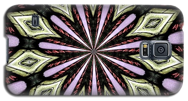 Galaxy S5 Case featuring the photograph Stained Glass Kaleidoscope 25 by Rose Santuci-Sofranko