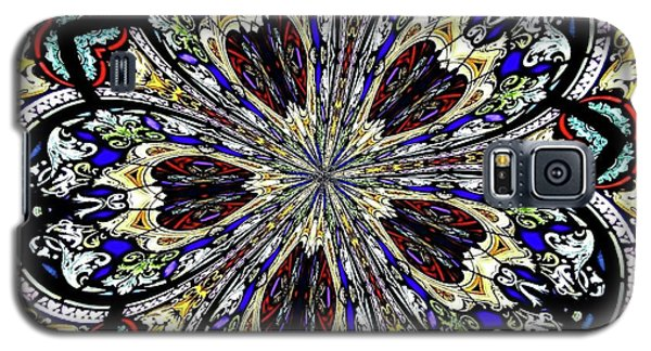 Stained Glass Kaleidoscope 38 Galaxy S5 Case