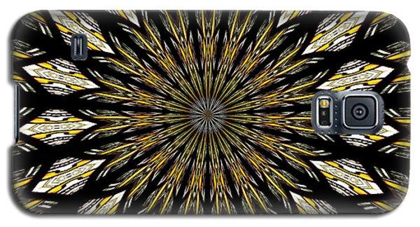 Galaxy S5 Case featuring the photograph Stained Glass Kaleidoscope 5 by Rose Santuci-Sofranko
