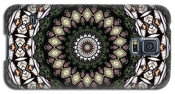 Galaxy S5 Case featuring the photograph Stained Glass Kaleidoscope 6 by Rose Santuci-Sofranko