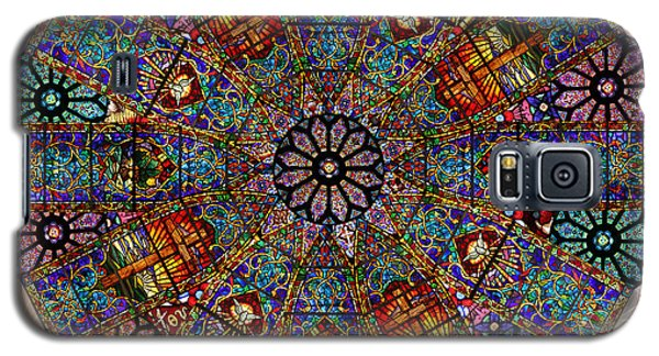 Stained Glass Mandala Galaxy S5 Case