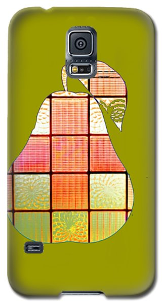 Stained Glass Pear Galaxy S5 Case