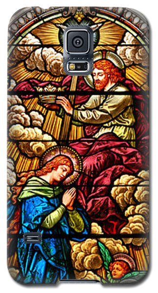Galaxy S5 Case featuring the photograph Stained Glass Scene 8 by Adam Jewell