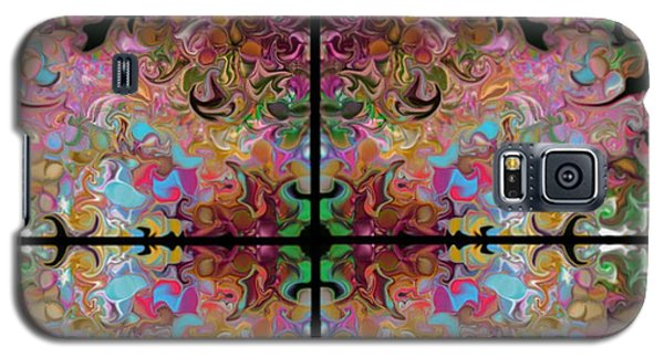 Stained Glass Window Galaxy S5 Case by Loxi Sibley