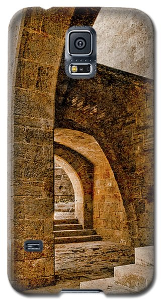 Galaxy S5 Case featuring the photograph Rhodes, Greece - Stair by Mark Forte