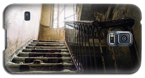 Stairs In Haunted House Galaxy S5 Case