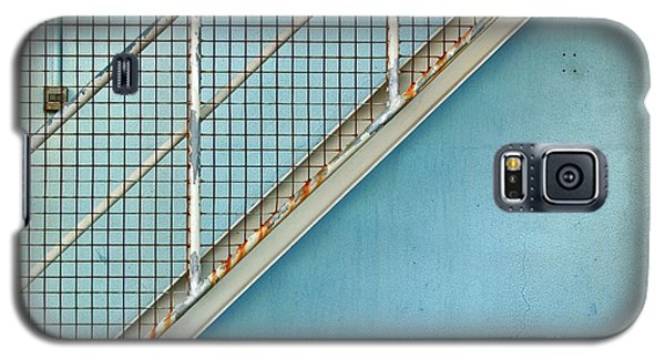 Stairs On Blue Wall Galaxy S5 Case