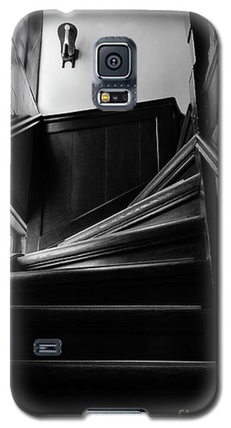 Stairway In Amsterdam Bw Galaxy S5 Case by RicardMN Photography