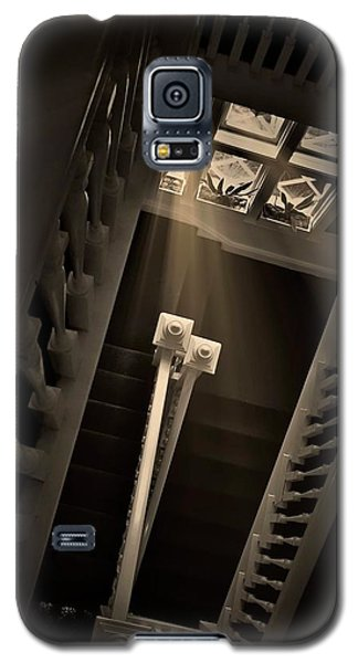 Stairway Light, Redstone Castle, Colorado Galaxy S5 Case