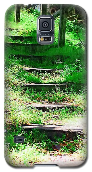 Galaxy S5 Case featuring the photograph Stairway To Heaven by Donna Bentley