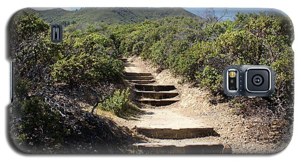 Stairway To Heaven On Mt Tamalpais Galaxy S5 Case by Ben Upham III