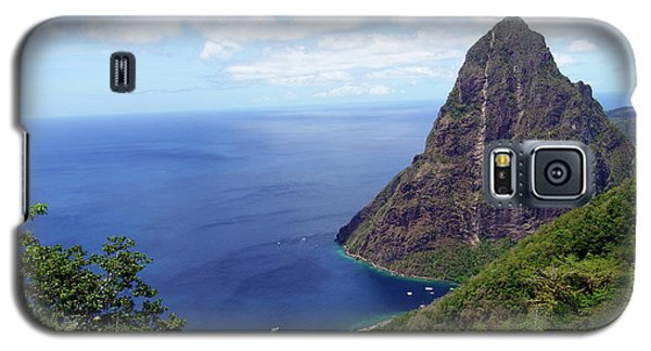 Galaxy S5 Case featuring the photograph Stairway To Heaven View, Pitons, St. Lucia by Kurt Van Wagner