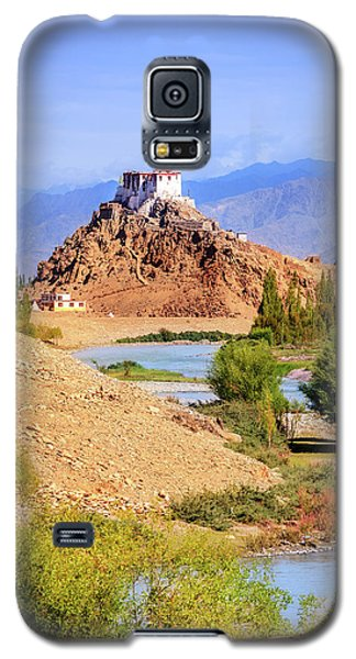 Galaxy S5 Case featuring the photograph Stakna Monastery by Alexey Stiop