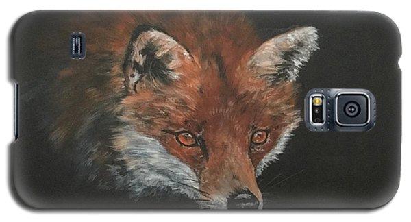 Red Fox In Stalking Mode Galaxy S5 Case