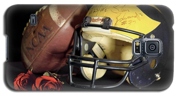 Stan Edwards's Autographed Helmet With Roses Galaxy S5 Case