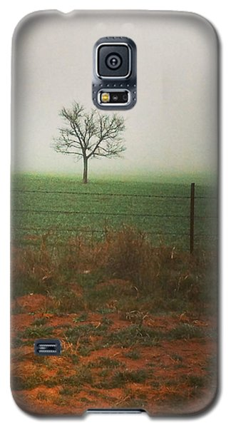 Standing Alone, A Lone Tree In The Fog. Galaxy S5 Case