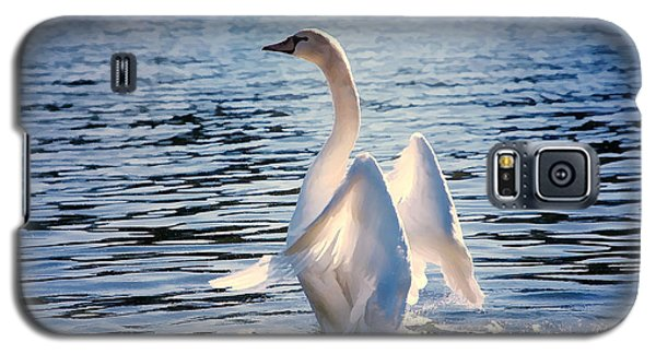 Standing At Attention  Galaxy S5 Case by Elaine Manley