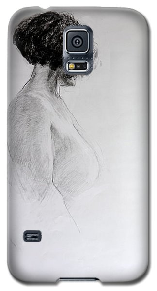 Standing Nude Galaxy S5 Case by Harry Robertson