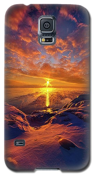 Galaxy S5 Case featuring the photograph Standing Stilled by Phil Koch