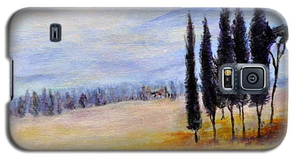 Galaxy S5 Case featuring the painting Standing Tall by Dottie Branchreeves