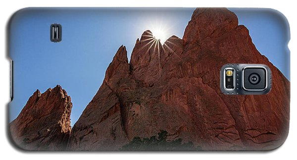 Standstone Sunburst - Garden Of The Gods Colorado Galaxy S5 Case