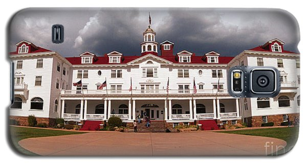 Galaxy S5 Case featuring the photograph Stanley Hotel - Estes Park Colorado by Donna Greene