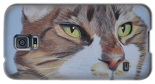 Galaxy S5 Case featuring the drawing Stanley by Jo Baner