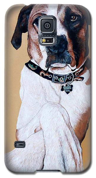 Galaxy S5 Case featuring the painting Stanley by Tom Roderick