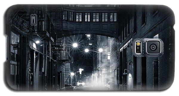 Staple Street Skybridge By Night Galaxy S5 Case
