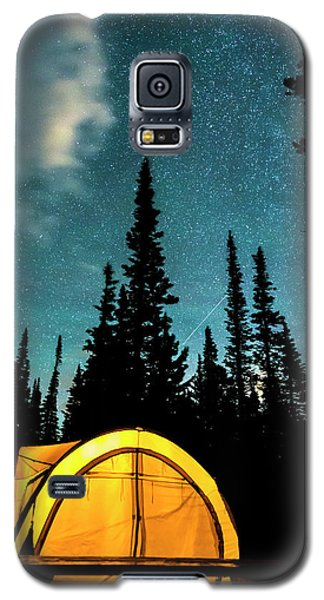 Galaxy S5 Case featuring the photograph Star Camping by James BO Insogna