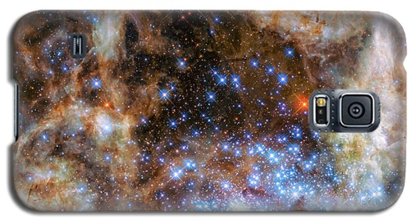 Galaxy S5 Case featuring the photograph Star Cluster R136 by Marco Oliveira