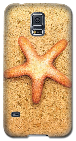 Star Fish Galaxy S5 Case by Katherine Young-Beck