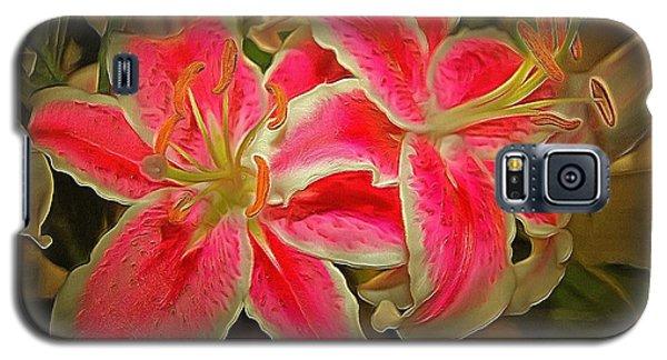 Star Gazer Lilies Galaxy S5 Case