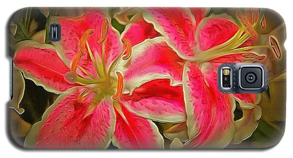 Star Gazer Lilies Galaxy S5 Case