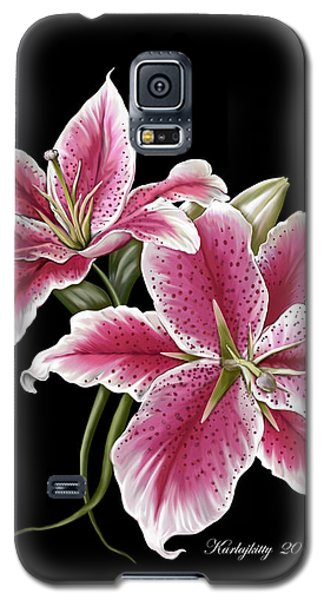 Star Gazer Lillies Galaxy S5 Case