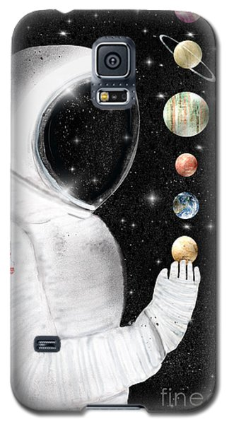 Galaxy S5 Case featuring the painting Star Man by Bri B