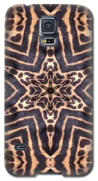 Star Of Cheetah Galaxy S5 Case
