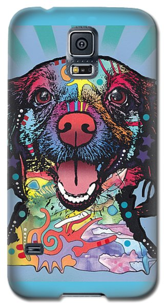 Galaxy S5 Case featuring the painting Star Of The Show by Dean Russo
