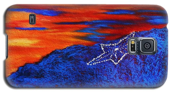 Star On The Mountain Galaxy S5 Case
