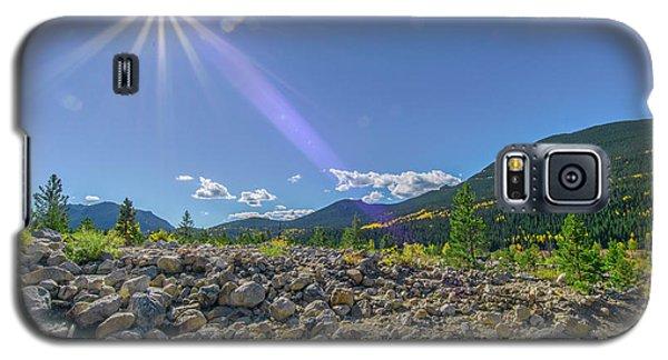 Star Over Creek Bed Rocky Mountain National Park Colorado Galaxy S5 Case