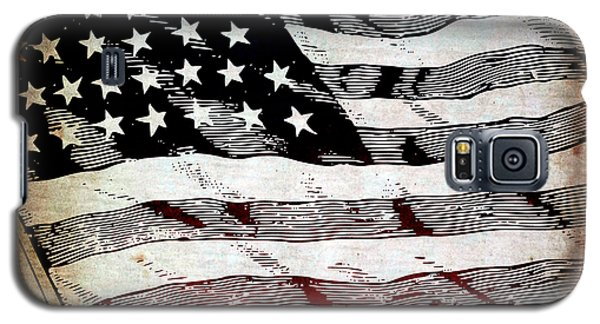 Star Spangled Banner Galaxy S5 Case by Angelina Vick