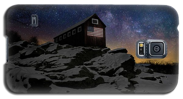 Galaxy S5 Case featuring the photograph Star Spangled Banner by Bill Wakeley