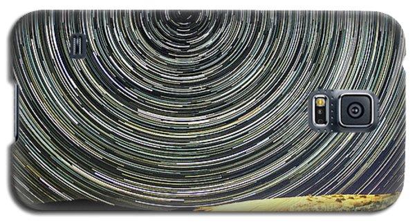 Star Trail Galaxy S5 Case