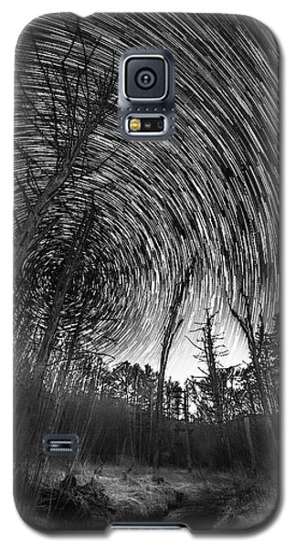 Star Trails - Blue Ridge Parkway Galaxy S5 Case