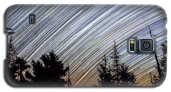 Star Trails From Mt. Graham Galaxy S5 Case
