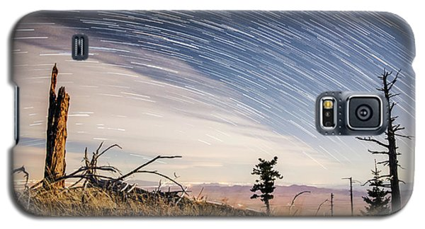 Star Trails Over Mt. Graham Galaxy S5 Case